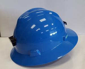 MSA V-Gard full brim safety hard hat
